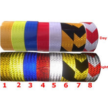 Pet Self Adhesive Reflective Hazard Warning Tape