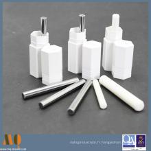 Goupille de précision en céramique personnalisée et standard