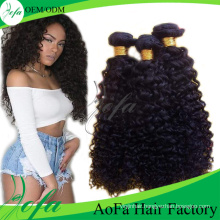 Grade 7A Hair Extension, Unprocessed Brazilian Human Virgin Hair