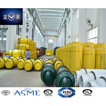 840L 630kg Refillable Fabricated Compressed Gas Cylinder for Refrigerant
