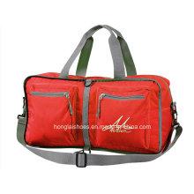 Rote wasserdichte Mode leichte Reisetaschen