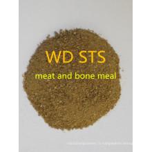 Repas de viande et d'os pour fourrage de haute qualité