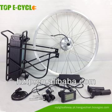 Kit elétrico barato da parte traseira da parte dianteira 36v250W da bicicleta com exposição de diodo emissor de luz