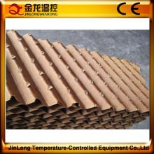 Tampon de refroidissement par évaporation à faible coût Jinlong pour élevage de volailles