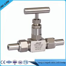 Union butt weld gas regulating valve