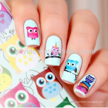 Bunter Wasser-Transfer Nail Art Sticker