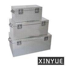 Caja de almacenamiento de aluminio