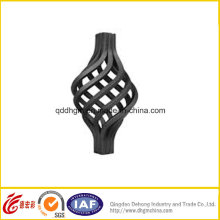 Ornamental Iron Fence Components for Fence