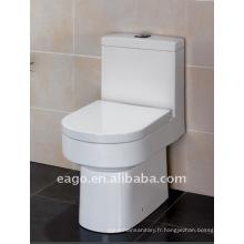 Toilette à double chasse en céramique EAGO