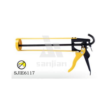 """Новейший тип 9 """"скелетный пистолет для копчения, силиконовый пистолет-пистолет-силиконовый пистолет, силиконовый герметик (SJIE6117)"""