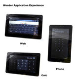 7 Inch Lcd Screen Built-in 3g Tablet Pc With Wm8850 Cpu