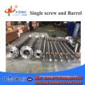 HVOF screw barrel  with cooling water jacket
