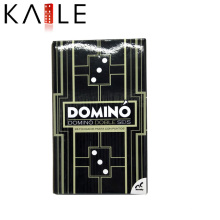 Custom New Design Black Cardboard Packing Domino