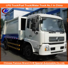 Heavy 6 Wheels Dongfeng Tianjin 6tons Komprimierter Müllwagen 8m3 Kompaktor Müllwagen