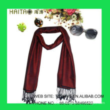 solid acrylic scarf with good hand feel