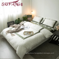 Luxury hotel High Quality Hotel Bedding Linen Supplier 100% Cotton Plain White Bed Sheets Set 100s