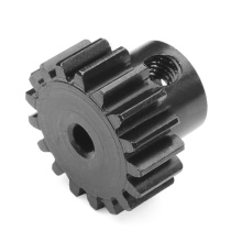 Precision Steel Spur Pinion Motor Gear with Hub