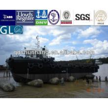 airbag marino de goma inflable para la nave y el barco