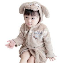 Tier Kopf Flanell Nachthemd Bademantel Kinder Freizeitbekleidung
