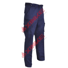 insect repellent pants, navy, cotton, 310gsm