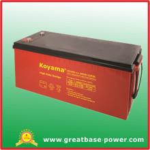 Acumulador / batería de descarga profunda de alta tasa 170ah 12V