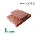 Decking al aire libre compuesto plástico de madera de WPC