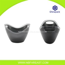 Custom wholesale plastic ice buckets for party