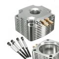 Le moule refroidi à l'eau refroidit le radiateur en aluminium de pièces