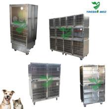 Veterinario Hospital Médico de acero inoxidable Pet Dog House