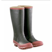 Professional Industrial PVC Material Plain Toe Waterproof Safety Rain Boots