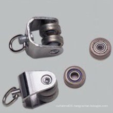 metal curtain track rail runner wheel bearing runner which hook