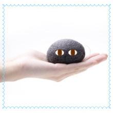 Esponja de baño Konjac de carbón de bambú natural suave 100% / Esponjas de baño para niños / Esponjas de limpieza facial