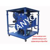 """ T"" type vacuum transformer oil purifier"