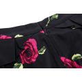 Бедра-завернутый Грейс Карин occident женщин старинные Ретро хлопок печатных юбка-карандаш CL008928-10