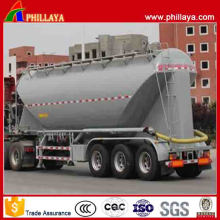 Nuevo diseño Large Volume 3 Axles Bulk Cement Tank Trailer