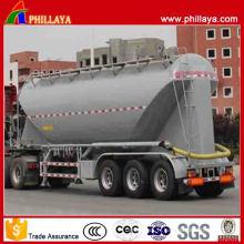Nouvelle conception grand volume 3 essieux en vrac réservoir de ciment de remorque
