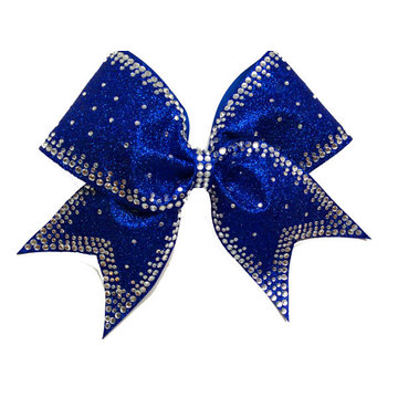 cheer bow strips crystal motif transfers