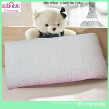 Travesseiros de enchimento de algodão PP personalizado de preço barato Travesseiro de hotel