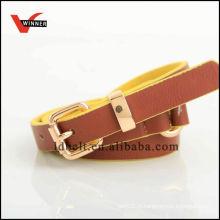 Customized fashion pu pu belt