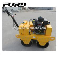 Hot sale walk behind self-propelled soil compactor road rolled machine(FYLJ-S600C)