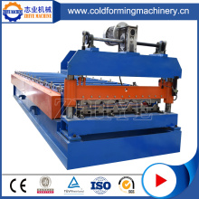 CE Byggnadsmaterial Roofing Sheet Roll Forming Machine