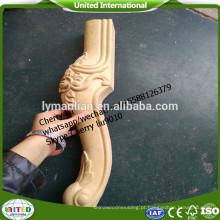 madeira cnc transformando pernas de cama de madeira