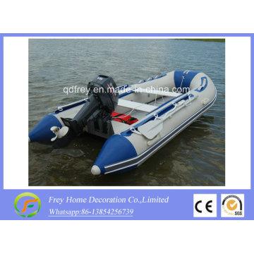 Hot Sale Ce bateau de pêche gonflable, bateau de sauvetage, bateau de vitesse