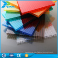 High quality low price uv coated building materials hollow opaque polycarbonate sheets