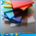 Fábrica de venda quente diretamente lexan transparente isolamento térmico bayer policarbonato plásticos placas de parede de parede dupla