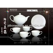 Керамическая кружка глиняная посуда из керамики фарфор SGS CE / EU CIQ EEC кофейный набор для чайных чашек
