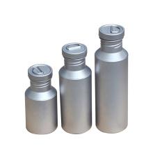 Camping senderismo bebida de titanio deporte botella de agua