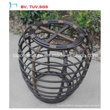 2016 ротанга мебель круглый ротанга сад стол комплект (CF1447C)