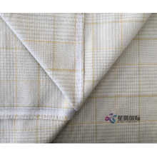 Plaid Cotton Bedding Dyed Fabric