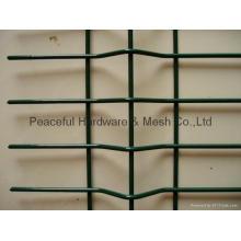 Panneaux de clôture en treillis soudé en PVC